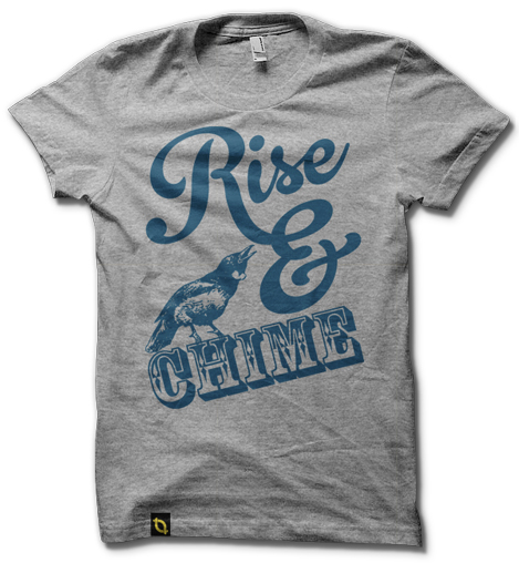 NZ t-shirt | Rise and Chime